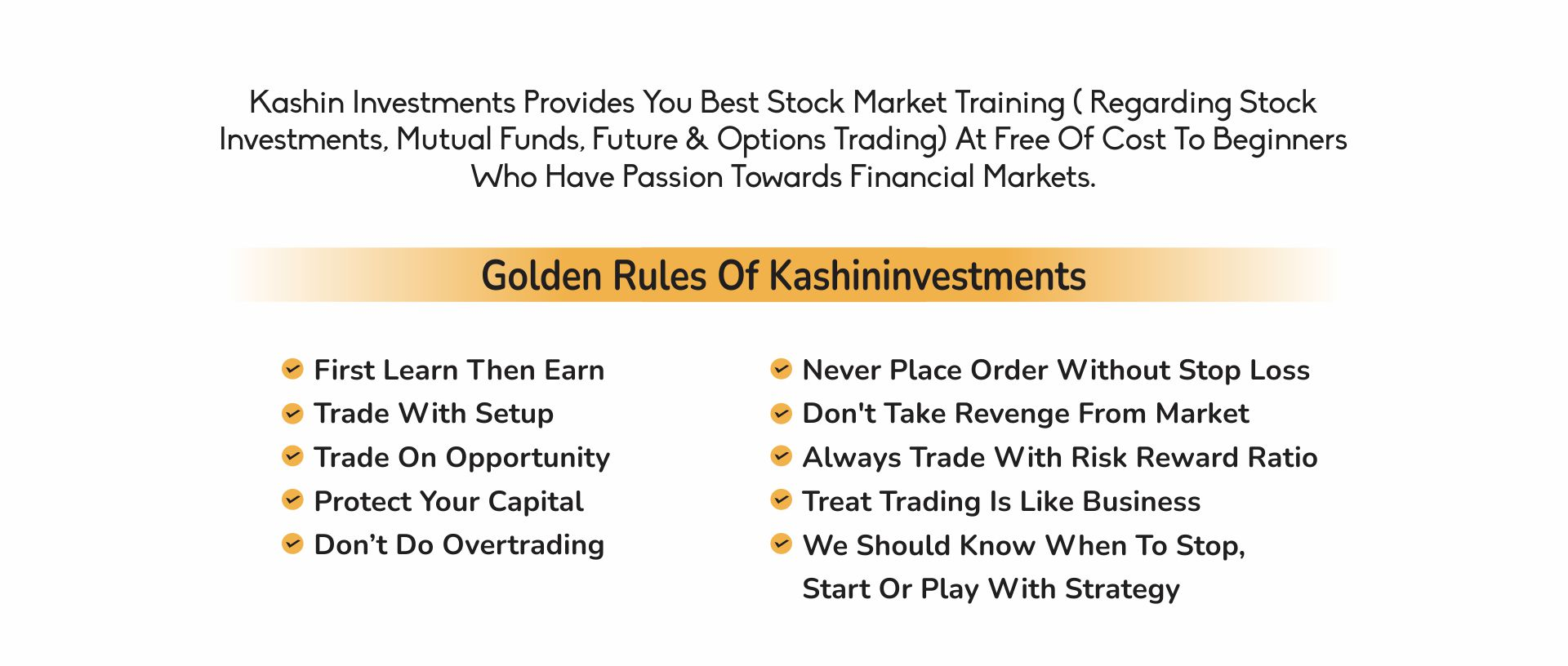 Kashi In Investment